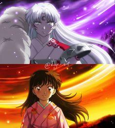 Rin And Sesshomaru, Inuyasha And Sesshomaru, Kagome Higurashi, Netflix Anime, Anime Titles, Kohaku, Character Design References, Animes Wallpapers, Anime Couples