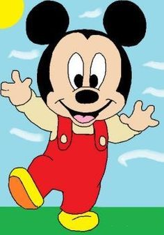 Printable Mickey Mouse Disney Babies Coloring Pages