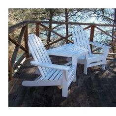 Adirondack Tete A Tete Polywood TT4040 (Shipping Included)