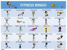 fitness bingo for kids ; fitness bingo for kids free printable ; Elementary Physical Education, Physical Education Activities, Elementary Pe, Pe Activities, Health And Physical Education, Fitness Activities, Educational Activities, Movement Activities, Physical Therapy
