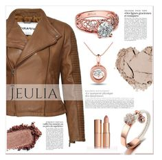 """""""Jeulia Forever Cute"""" by lucky-1990 ❤ liked on Polyvore featuring women's clothing, women's fashion, women, female, woman, misses, juniors, jewelry and jeulia"""