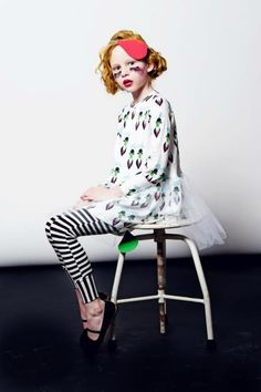 Super Cool Artwear For Kids - Efvva's handpainted SS14 collection
