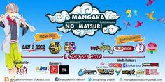 Event / Peristiwa / Evento: Mangaka No Matsuri 2 2016  Date / Tanggal / Fechas: 1 Oktober 2016 Location / Tempat / Lugar: Sman 5 Kota Dep...
