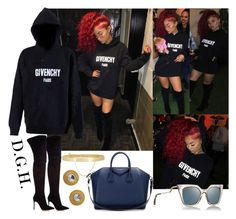 """""""Givenchy Paris."""" by dopegenhope ❤ liked on Polyvore featuring Givenchy, Gianvito Rossi, Fendi, Eddie Borgo, westbrooks, indialove, indialovewestbrooks and illyil"""