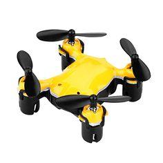 Virhuck volar-360 RC Mini Drone Nano Cuadricóptero Modo sin Cabeza (4.5 Canales, 6 Ejes Gyro, 2.4 GHz, Luz LED, Quadcopter) - http://www.midronepro.com/producto/virhuck-volar-360-rc-mini-drone-nano-cuadricoptero-modo-sin-cabeza-4-5-canales-6-ejes-gyro-2-4-ghz-luz-led-quadcopter/