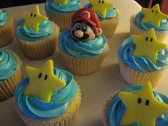 super mario brothers theme cupcakes - Google Search