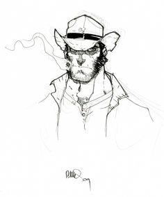 Wolverine, aka Logan, by Humberto Ramos