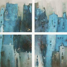 """Conny Niehoff, """"Mein Kiez"""" Mit einem Klick auf 'Als Kunstkarte versenden' versenden Sie kostenlos dieses Werk Ihren Freunden und Bekannten."""