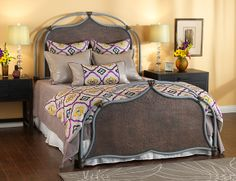 Lugan Wesley Allen Beds Are Forged Iron And Hand Crafted In California With Several