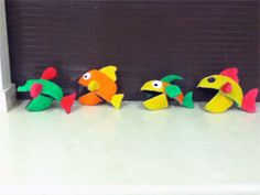 Go Create, Minister, Teach!: Free Puppet Pattern: Blacklight Fish