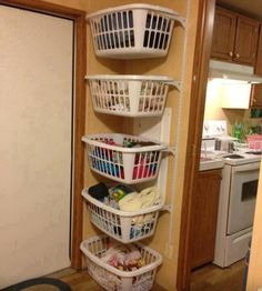 Laundry organized, looking for a better way