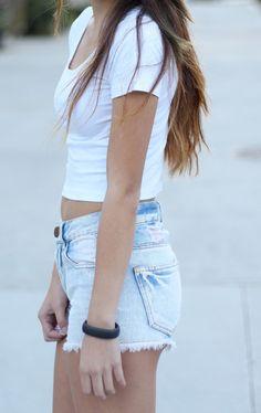 I usually don't like light shorts but I kinda like these if they were longer