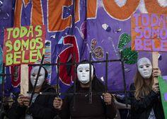 Marchas en Argentina para pedir la libertad de Belén