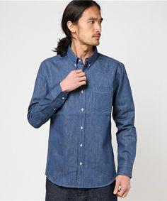 【ZOZOTOWN|送料無料】Audience(オーディエンス)のシャツ/ブラウス「綿麻デニムナローカラーボタンダウン長袖シャツ」(AUD1860)を購入できます。