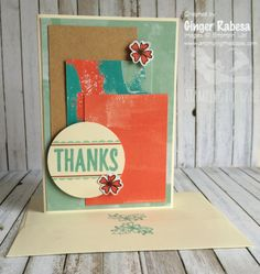 August 2016 Paper Pumpkin Alternative 4 by Ginger Rabesa,  Here is this month's…