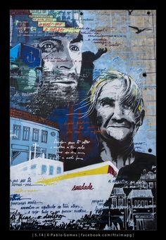 Mural Lionesa [2014 - Leça do Balio / Portugal] #fotografia #fotografias #photography #foto #fotos #photo #photos #local #locais #locals #cidade #cidades #ciudad #ciudades #city #cities #europa #europe #fotografia #photography #photo #street #streetart #graffiti #grafittis #grafito #grafitos @theartofwall