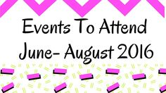Events To Attend : June – August 2016 http://www.bigbeautifulblackgirls.com/events-attend-june-august-2016/