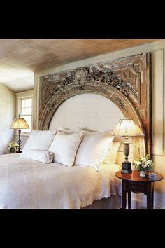 32 Best Diy Headboard Ideas For Bedroom Design Fabulous , There are lots of tips for headboards. The idea of turning her room into a large purple cave wasn't appealing to me. Even straightforward bedroom deco. Furniture, Home, Home Bedroom, Bedroom Design, Bedroom Inspirations, Mantle Headboard, Headboard, Bedroom, Bedroom Headboard