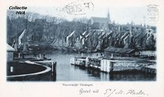 De vissersvloot in de haven van te Vlissingen