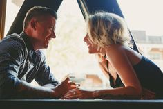 Engaged in Temecula. Old town Temecula engagement session at Crush and brew