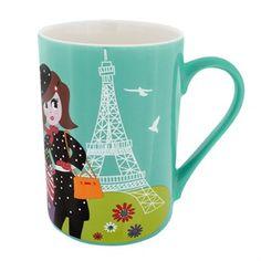 Mug - Schluck - Pylones Mug Original, Cadeau Design, Micro Onde, Paris, Mugs, Tableware, Voici, Designers, Pop