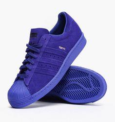 adidas superstar wildleder blau