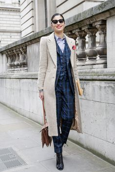 Caroline Issa | Street Style, London Fashion Week: 29 shots from this weekend's shows