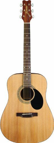Jasmine S35 Dreadnought Acoustic Guitar This Amazon Marketplace top-selling acoustic guitar is the perfect instrument for a beginner of any age or as a second instrument for the seasoned player. Fro...