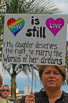 My daughter deserves equal rights. And so do I. #samelove #equality