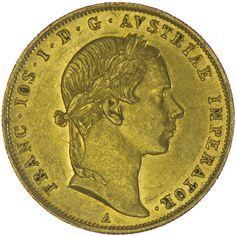 Franz Joseph I. 1848 - 1916 Dukat 1858 A Gold, Kaiserreich