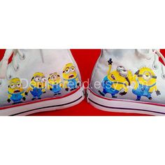 Minion Custom Shoes 2- Converse on Etsy, $74.00