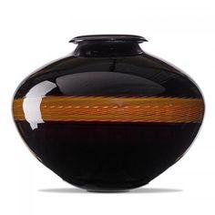 LINO TAGLIAPIETRA (b. 1934) EFFETRE INTERNATIONALE Vase, Murano, Italy, 1982 Blown incalmo glass Etched LINO TAGLIAPIETRA F31/MURANO 29/100 1982