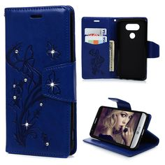 case for nokia on sale at reasonable prices, buy from mobile site on Aliexpress Now! Lg Cases, Phone Cases, Leather Case, Pu Leather, Diamond Decorations, Lg G5, Notebook, Bling, Wallet