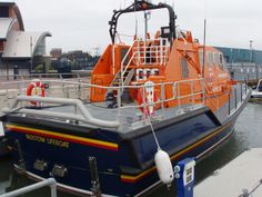 Padstow Lifeboat, Tamar Class 16-04 at Poole
