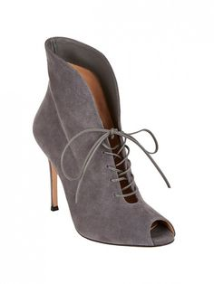 Gianvito Rossi Lace-Up Jane Boots