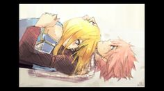 Natsu and Lucy a cute couple!