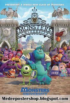 MeDeePosterShop: ขายโปสเตอร์หนัง Monsters University Poster Movie 2013 (มหา'ลัยมอนสเตอร์) รูปภาพแผ่นใหญ่ขนาด 24x35 นิ้ว
