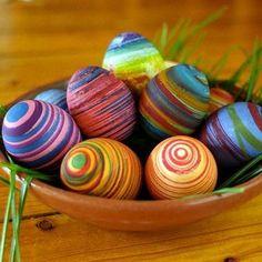 malovaná velikonoční vajíčka