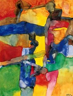 Peintre français Maurice Estève 1904 - 2001