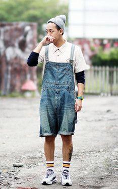 時尚穿搭:穿吊帶短褲的日子不多了