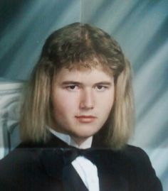 The just-hanging-out-mullet-with-a-tux on mullet. | The 31 Most Important Mullets That Ever Existed