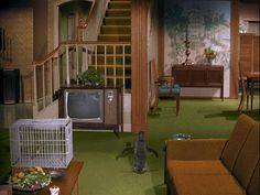 Samantha and Darwins crib- http://hookedonhouses.net/2009/10/04/a-bewitched-house-1164-morning-glory-circle/#