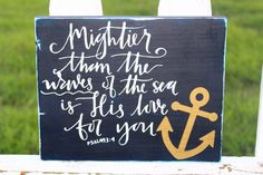 Mightier than the waves of the sea is His love for by OnTheSideWCD