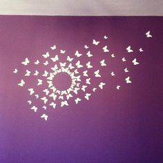 #wall #room #decor #decoracion  #ideas #mariposas