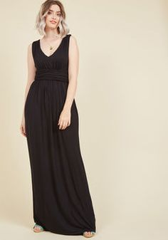 Honored Concept Maxi Dress in Black