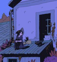 Art And Illustration, Halloween Illustration, Arte Inspo, Kunst Inspo, Fantasy Kunst, Fantasy Art, Anime Kunst, Anime Art, Pretty Art