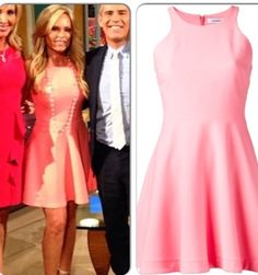 Tamra Judge's Real Housewives of Orange County Season 9 Reunion Dress & Chanel Necklace http://www.bigblondehair.com/style/real-housewives-orange-county-season-9-reunion-dresses/ RHOC Reunion Fashion featuring Elizabeth and James