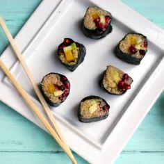 Yum Yum Skinny Quinoa Sushi
