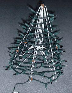 Hanger Christmas Tree Craft   Coat hanger, Christmas tree and ...