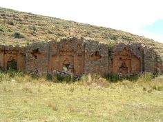 ruins near lake titicaca